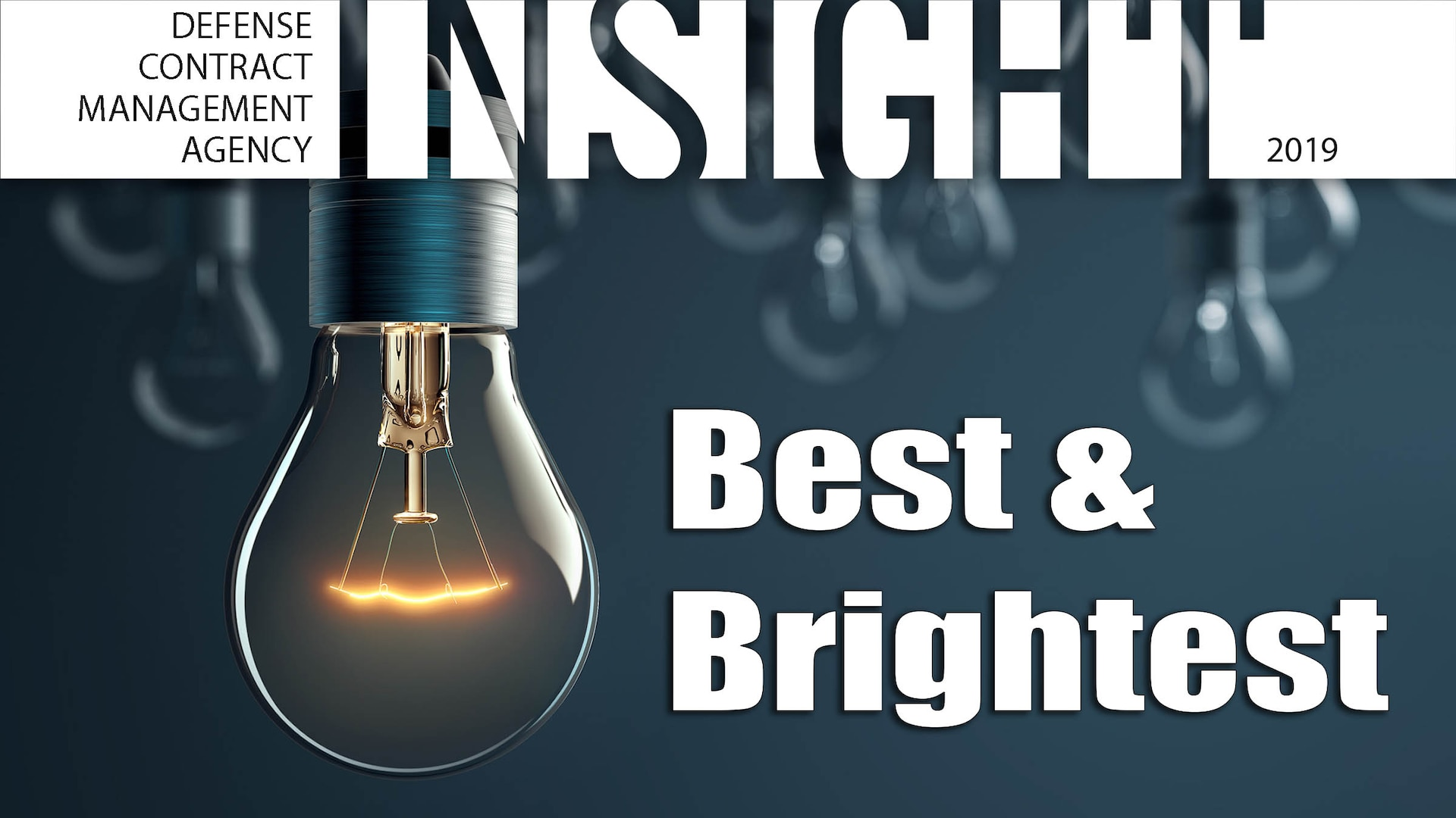 Light bulb graphic with Best and Brightest text.