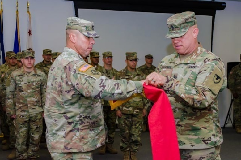 Fort Bliss Mobilization Brigade Transfer of Authority