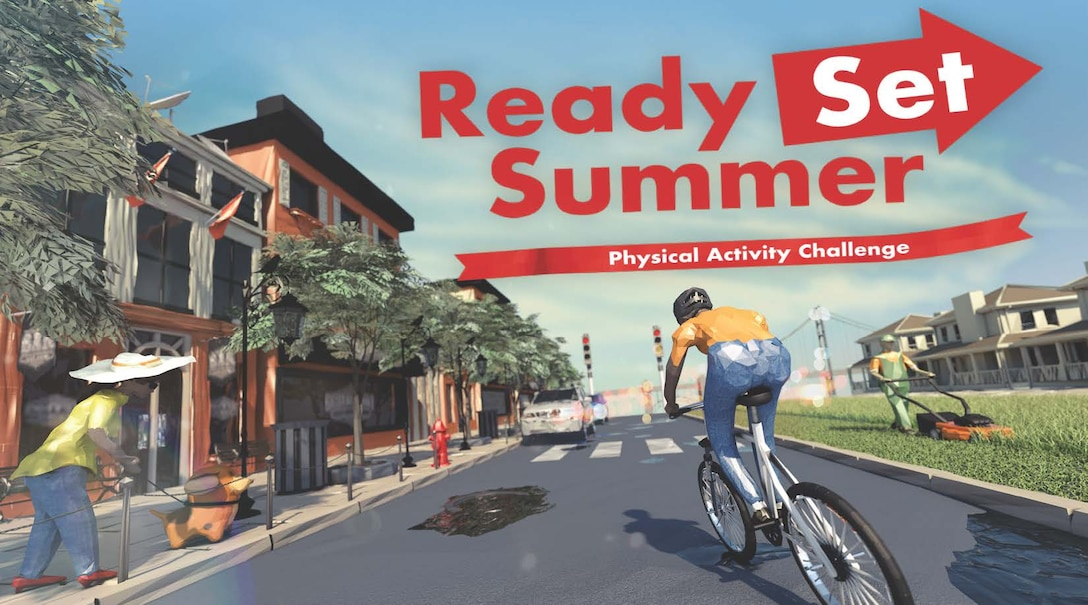 This spring season, Civilian Health Promotion Services will promote its Ready, Set, Summer Physical Activity Challenge.