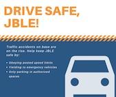 Drive safe, JBLE!