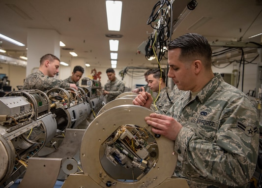 Misawa Maintainers Innovate New Parts for Targeting Pods, Re-achieve 98% Mission Standard Rate
