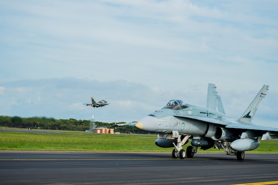 Aggressor Squadron, Royal Australian Air Force Enhance Tactical Skills at Diamond Shield