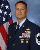 Chief Master Sergeant Carlos A. Rosa is the is the Air Force Senior Enlisted Leader for Joint Base Pearl Harbor-Hickam Hawaii and Superintendent, 647th Air Base Group, 15th Wing. In these roles he advises Joint Base and 647th Air Base Group leaders on all matters regarding morale, utilization, readiness, training and professional development of 2,450 joint military and civilian personnel across five squadrons and six departments. He leads joint forces supporting an installation population of 84,000 and working population of 36,000 military and civilian personnel. As a Joint Base leader, he serves a critical role in ensuring the execution of strategic air mobility, operational missions, special air missions and shore installation services in support of United States Pacific Command, Headquarters Pacific Air Forces, United States Pacific Fleet and 176 tenant commands.