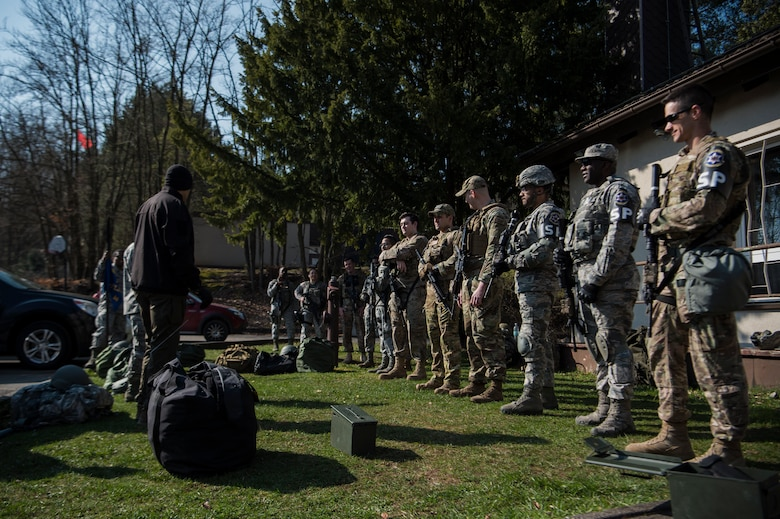 The 569th U.S. Forces Police Squadron held their annual flight of the year competition on Kapaun Air Station Germany, throughout April 2019.