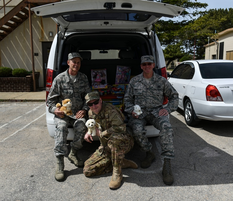 Senior non-commissioned officers from the 176th Civil Engineer Squadron, Joint Base Elmendorf-Richardson, Alaska, pose for a photo at Kunsan Air Base, Republic of Korea, April 17, 2019. The 176th CES sent members on a training deployment and during their time in Korea raised money and donated toys to a local orphanage. (U.S. Air Force photo by Senior Airman Stefan Alvarez)