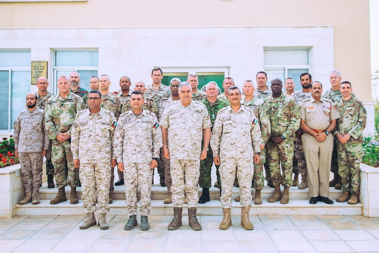 Jordan hosts multilateral Senior Enlisted Leaders symposium