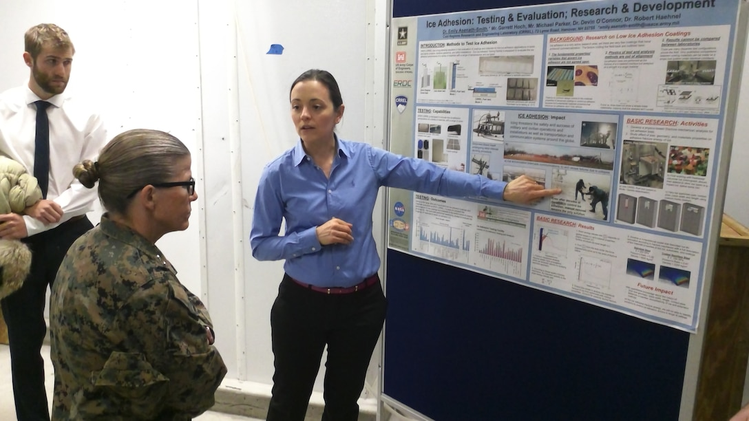 Army Cold Regions lab shares ice adhesion R&D with U.S. Northern Command