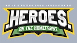Heroes on the Homefront banner for military spouse appreciation day