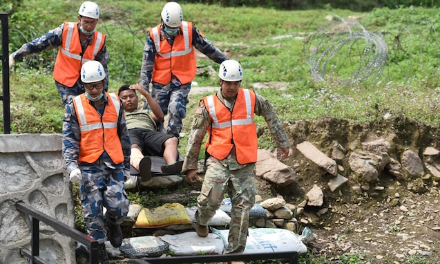 U.S. Military Conducts First Medical Exchange with the Nepal Armed Police Force