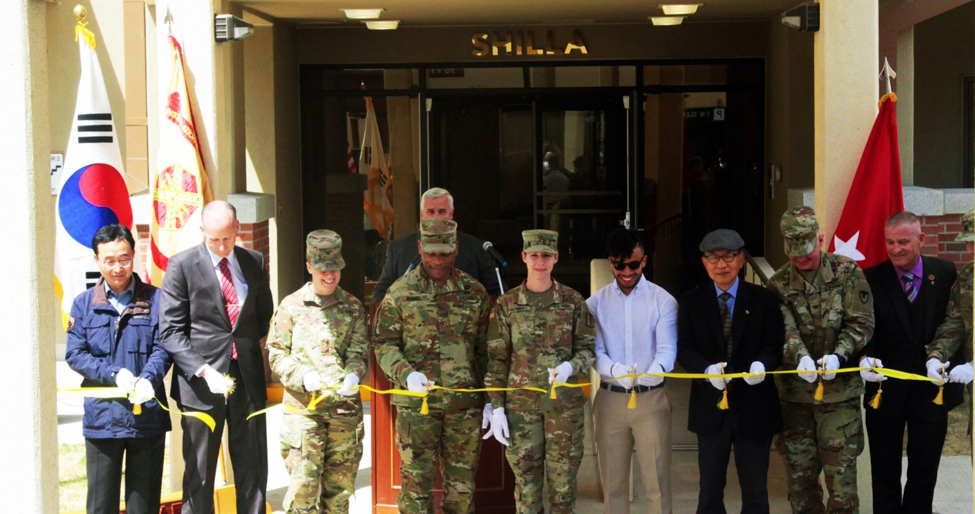U.S. Army Garrison Daegu's Shilla Tower Opens to Residents