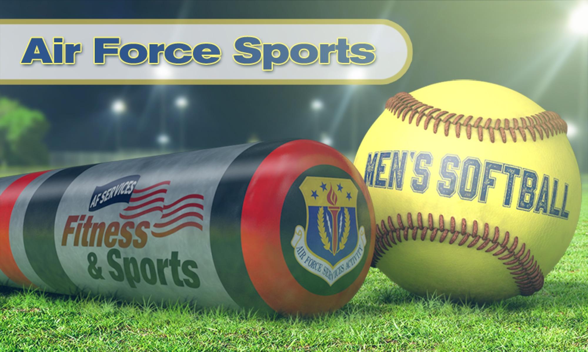 Air Force Men's Softball graphic