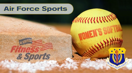 Air Force Women's Softball graphic