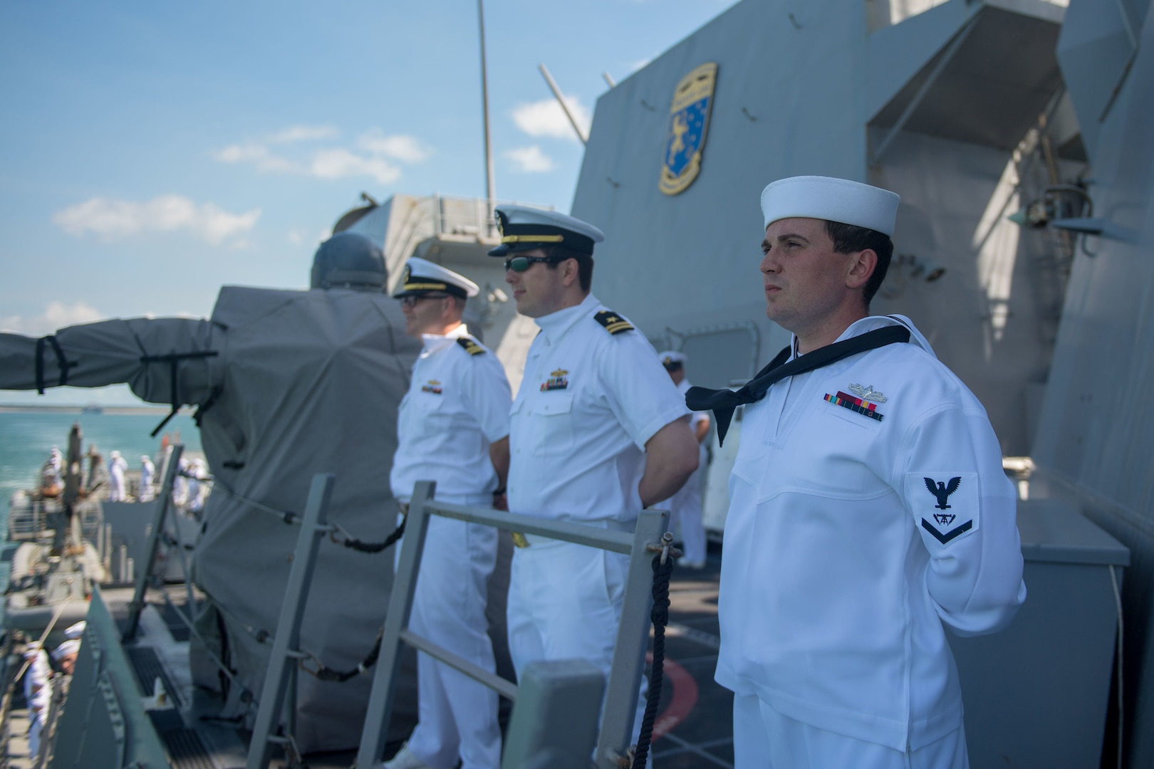 USS Stockdale Visits Darwin during 7th Fleet Operations