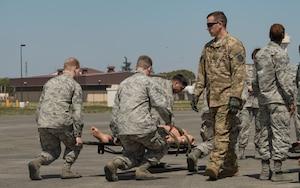 Patient air evacuation training
