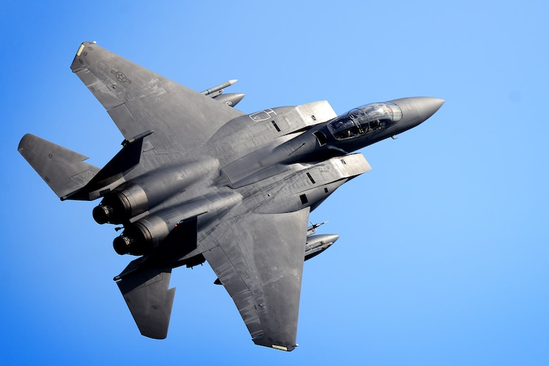 An F-15E Strike Eagle