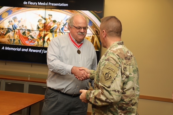 Engineer receives prestigious de Fleury Medal
