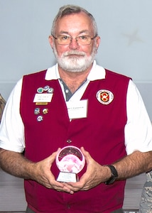 Outstanding Retiree Volunteer of the Year, John Franklin III, Department of Family and Community Medicine, Brooke Army Medical Center