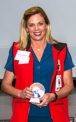 Outstanding Civilian Volunteer of the Year, Paula Davidson, U.S. Army Institute of Surgical Research Burn Center Burn Intensive Care Unit