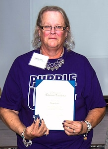 Volunteer Excellence Award, Margie Cates, 59th Medical Support Group