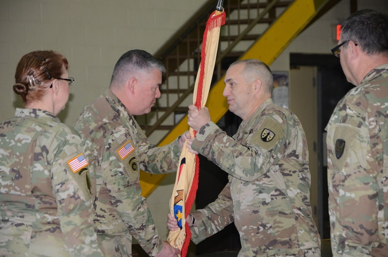 Army Reserve Sustainment Command welcomes new command sergeant major