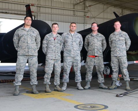 9th MXG maintain rare U-2 Black Letter Jet at Beale