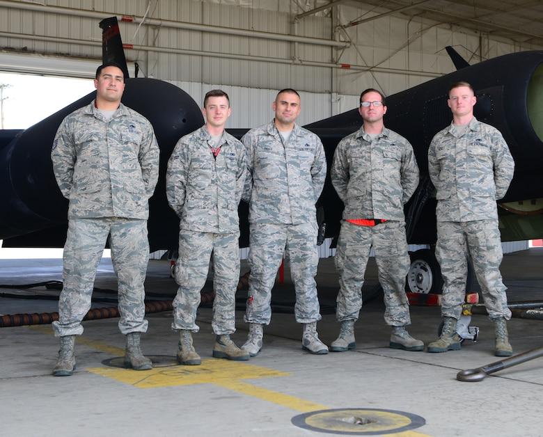 9th MXG maintain rare U-2 Black Letter Jet at Beale