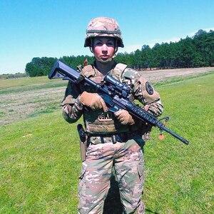 Sgt. 1st Class Cheryl Morris (ARCD) at AFSAM