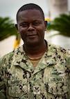 Petty Officer 1st Class David Ampofo