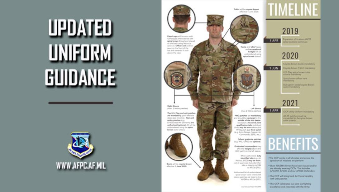 Notice of updated OCP guidance