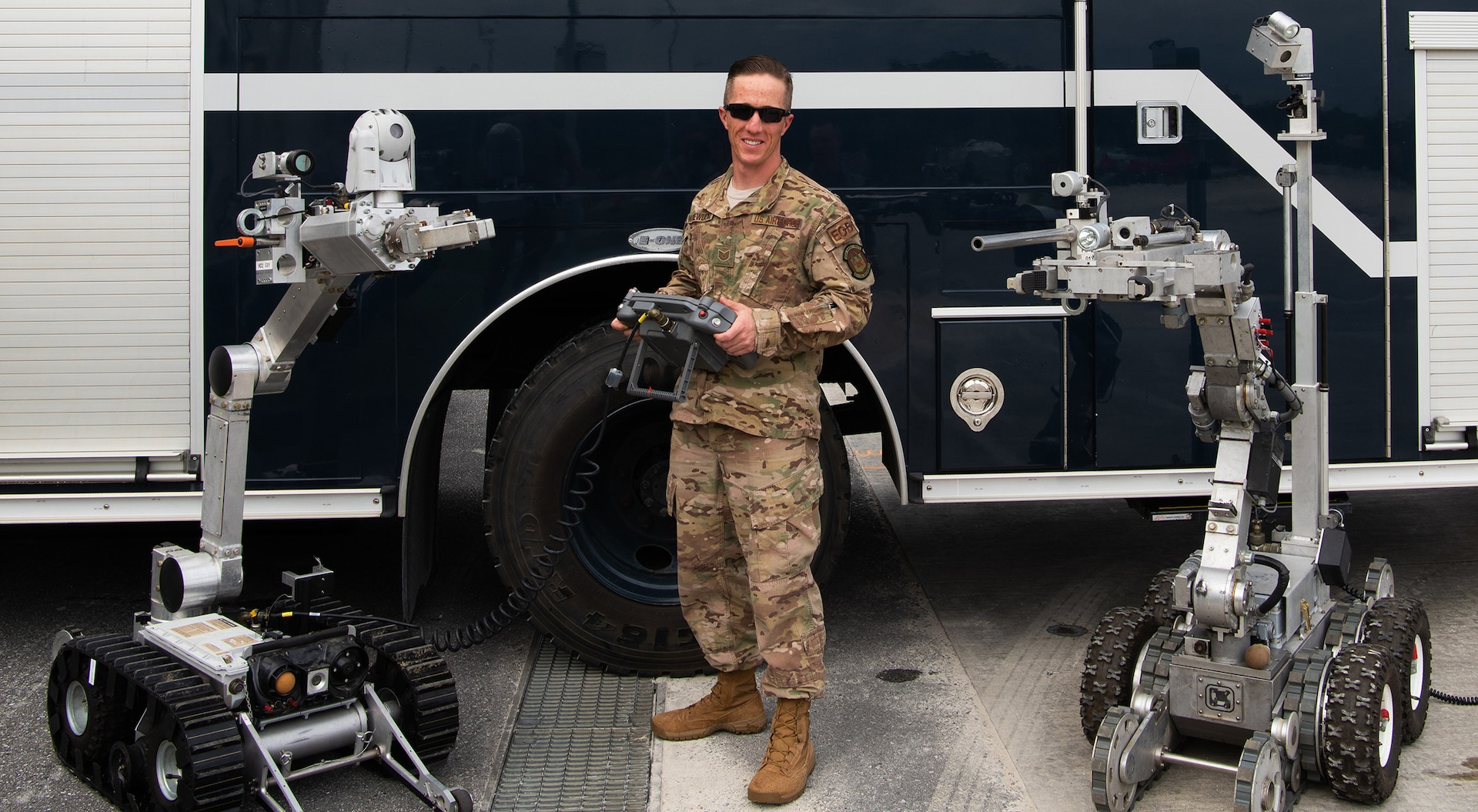 PACAF Explosive Ordnance Disposal Tech to Compete for Top Air Force Level Award