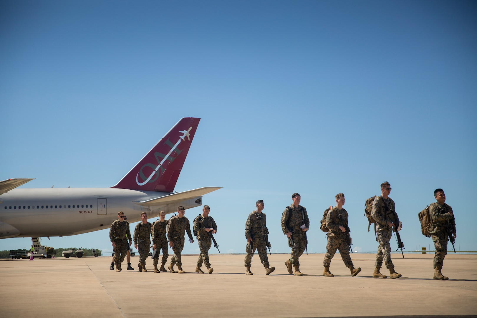 U.S. Marines Arrive in Darwin for Annual Rotation