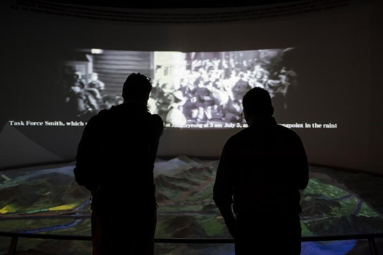 7th Air Force visits UN First Battle Memorial