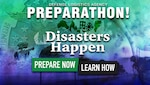 America's PrepareAthon! is a nationwide campaign held April 30 to increase community emergency preparedness through hazard-specific group discussions, drills and exercises.