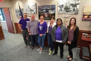 914th celebrates Purple Up! Day
