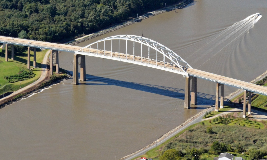 St. Georges Bridge (Delaware Route 13) is owned and operated by the U.S. Army Corps of Engineers Philadelphia District. The bridge was originally constructed in 1941.