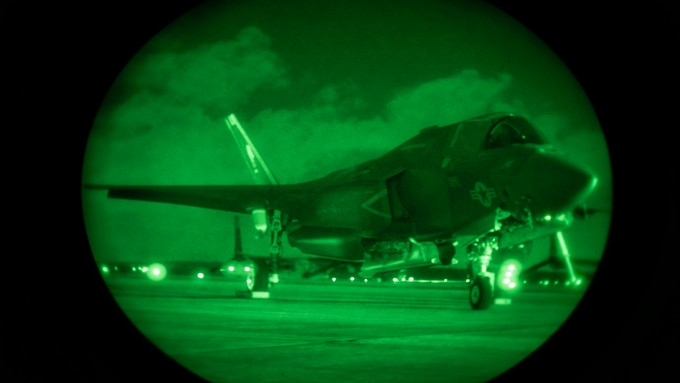 DCAA audits support the construction of the F35B Lightening II Joint Strike Fighter, which gives