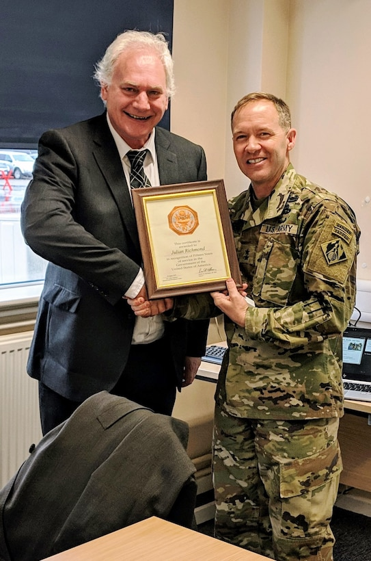 International Research Office recognizes long-time contributor