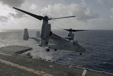 MV-22 Osprey Takes Off