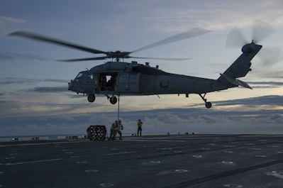 MH-60 Makes a Drop