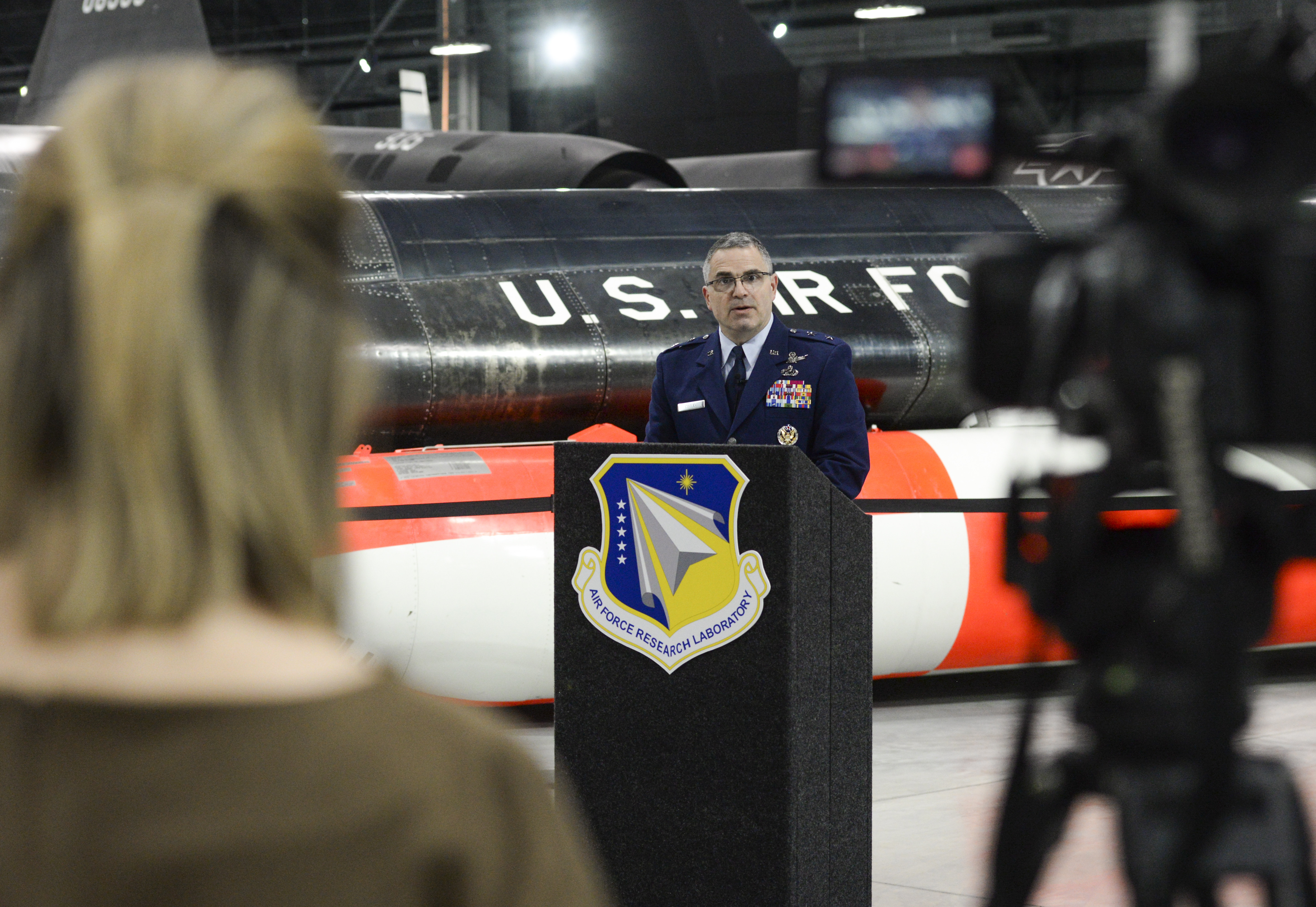 wholesale dealer a508e ce0d2 AFRL commander introduces new AF Science and Technology ...