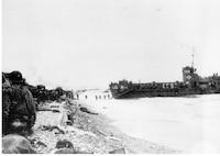 LCI 83 at Omaha Beach