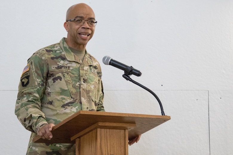 Legal Command welcomes new commander