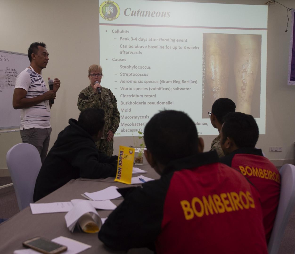 Timor-Leste First Responders Attend PP19 Disaster Preparedness Workshop