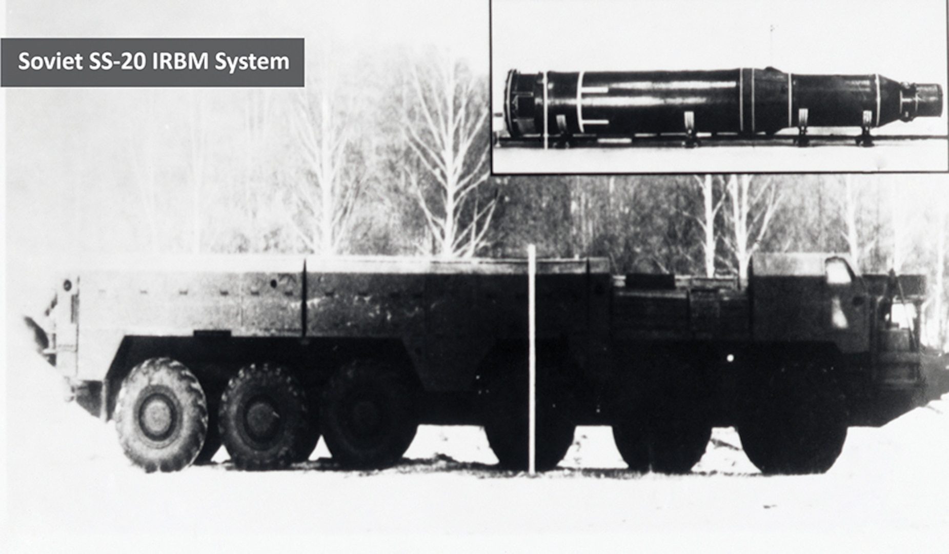 Soviet SS-20 Mobile Missile