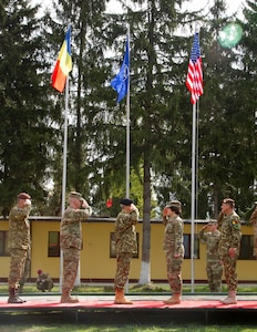 Engineers pave way for Resolute Castle 19 with ceremony