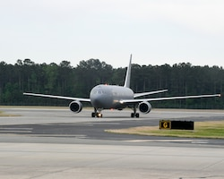 KC-46 At Seymour for Airshow