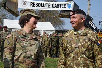 Resolute Castle 19 opening ceremony, Cincu, Romania