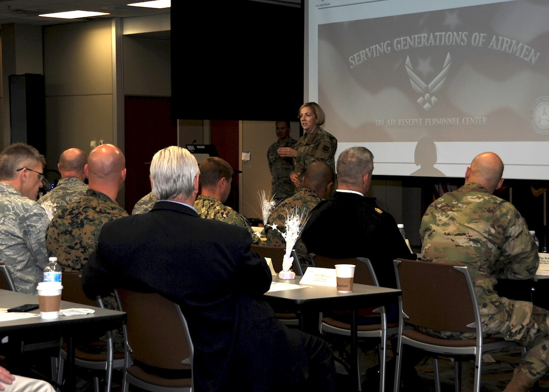 Approximately 100 members of the Aurora Defense Council gathered together here for their monthly meeting, April 25.