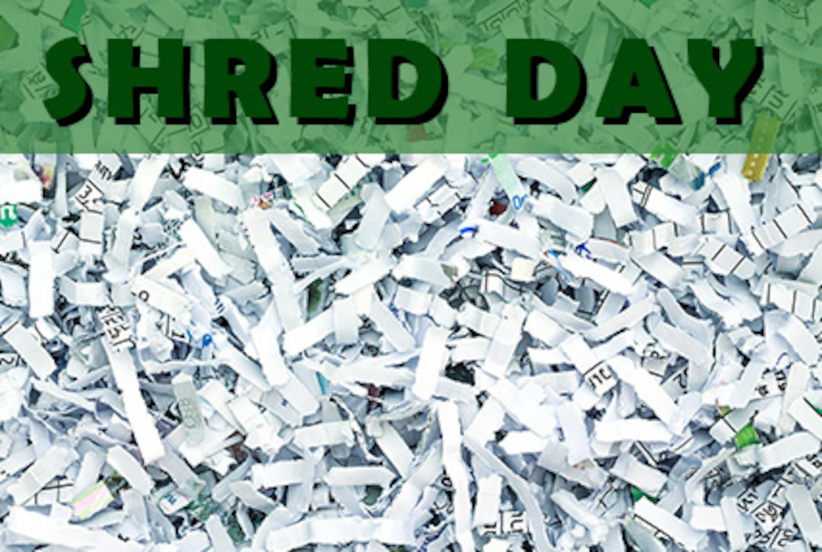 Image of shredded paper