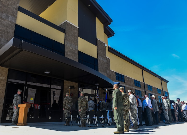 Opening doors to the future 427th Reconnaissance Squadron ribbon cutting ceremony